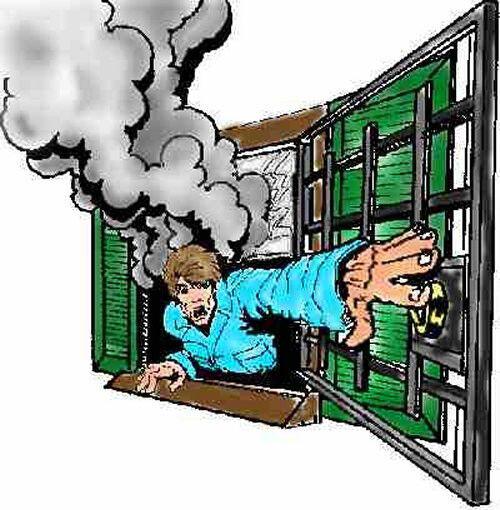 Window Guard Burglar Bars Sizes With OPTIONAL Emergency Quick Release
