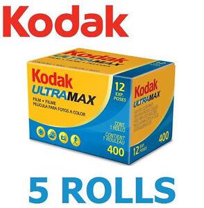 5-Rolls-x-KODAK-Ultramax-400-ISO-36EXP-135-Color-Print-Film-35mm-FRESH