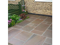 Raj Green Indian Sandstone Paving Slabs Patio Slabs Patio Paving Stone