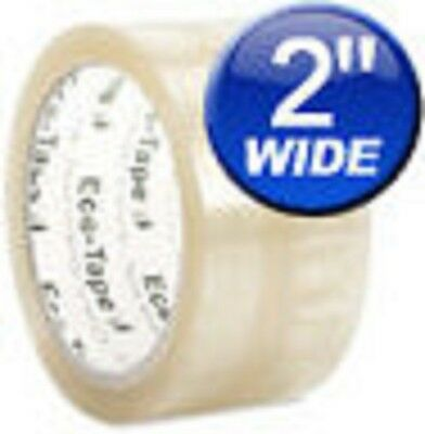 36 ROLLS ECO-TAPE,CLEAR,PACKING BOX TAPE  2