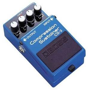 Compressor Sustainer Boss pedal CS1
