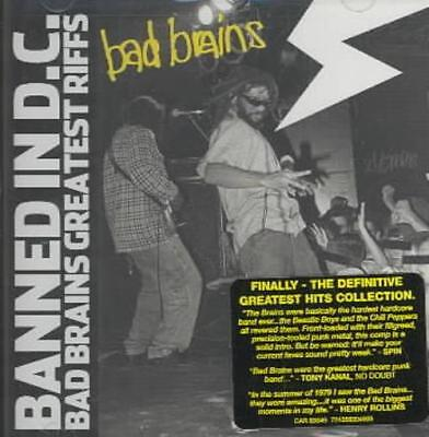BAD BRAINS - BANNED IN DC: BAD BRAINS' GREATEST RIFFS NEW (Banned In Dc Bad Brains Greatest Riffs)