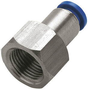 BSP Female Thread , Metric Push Fit , Pneumatic , Water etc
