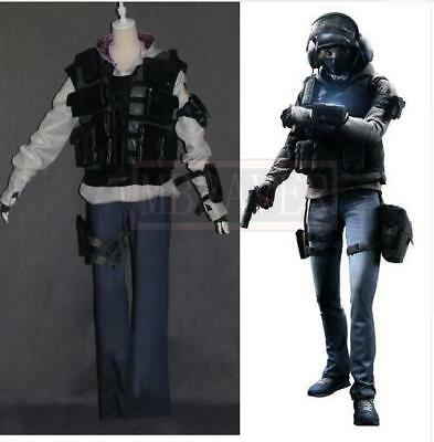 Tom Clancy's Rainbow Six Siege IQ Halloween Uniform Outfit Cosplay Costume