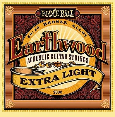 Ernie Ball 2067 Earthwood 80/20 Bronze Mandolin Light Strings Cheap - Cheap String Lights