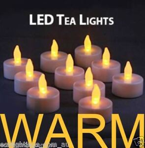 60-X-LED-TEA-LIGHT-TEALIGHT-CANDLE-FLAMELESS-FLICKERING-WEDDING-BATTERY-INCLUDED