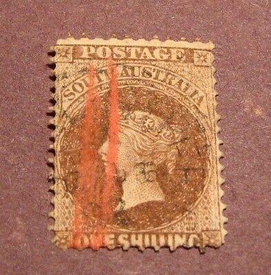 South Australia Stamp Scott# 52  Queen Victoria 1867-74 C86