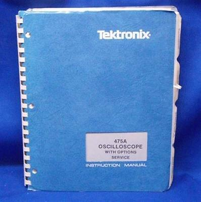Tektronix 475 Oscilloscope Woptions Service Manual Rev Nov1981 Pn 070-2162-00