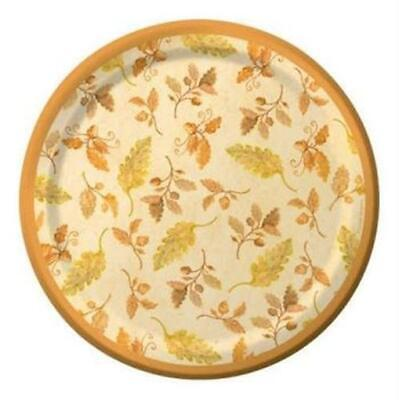 Fall Bouquet 7 Inch Plates 8 pack Fall Thanksgiving Party Decorations