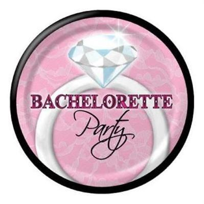 - Sassy & Sweet Bachelorette Party 7 Inch Plates 8 Pack Decoration