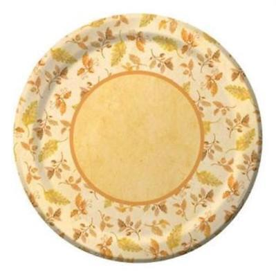 Fall Bouquet 10-1/4 Inch Plates 8 pack Fall Thanksgiving Party Decorations