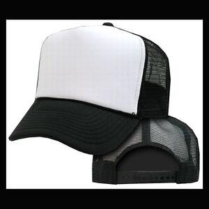 Trucker-Mesh-cap-hat-Plain-Blank-for-emboroidery-and-silk ...