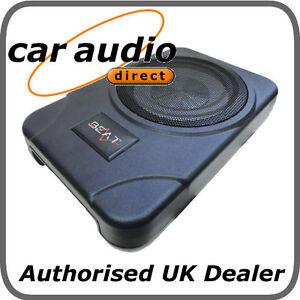 beat bsw8act 8 under seat active car audio subwoofer. Black Bedroom Furniture Sets. Home Design Ideas