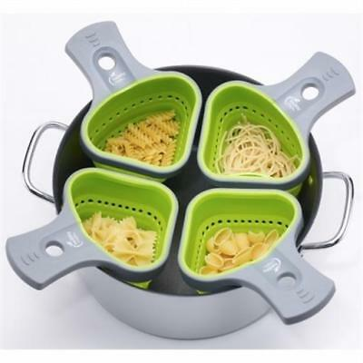 Jokari Pasta Portion Control Basket Container - Cooking Gadget & Kitchen Tool