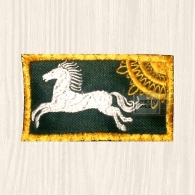 LOTR Rohan Flag Patch Tolkien Sauron The Hobbit Lord of the Rings