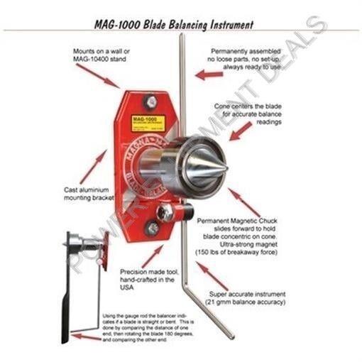 MAGNA-MATIC MAG 1000 BLADE BALANCER MAG-1000