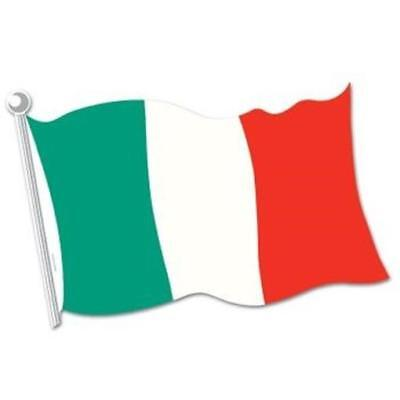 Italian Flag Cutout Wall Prop Italian Decoration (Italian Flag Decorations)