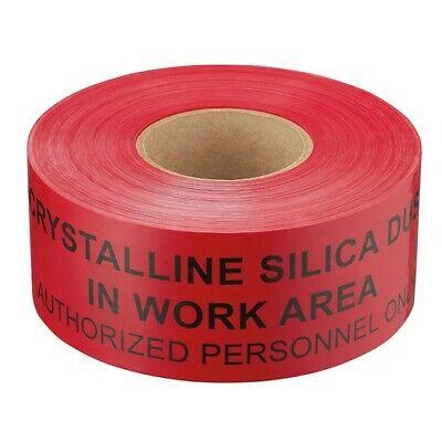 Construction Barricade Warning Tape