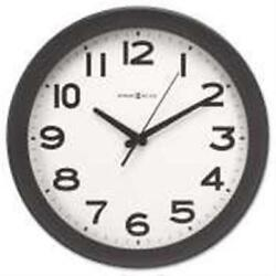 Howard Miller Clock 625485 Kenwick Wall Clock 13.5 in. Black