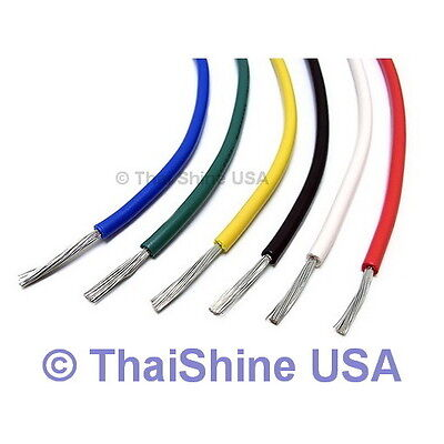 10FT AWG 22 Green Hook-Up Wire (300cm) Solid - USA Seller - Free Shipping