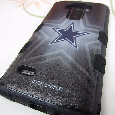 Dallas Cowboys Hybrid Shockproof Defender Cover Case for Lg G Stylo LS770