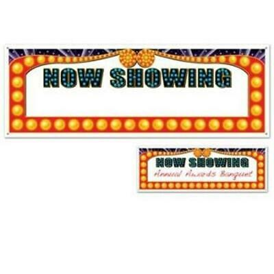 Now Showing Banner (Now Showing All-Weather Giant Banner Red Carpet Movie Awards VIP Party)