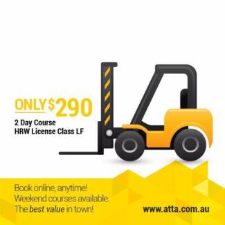 Forklift Truck Course - get your staff licensed on site!!