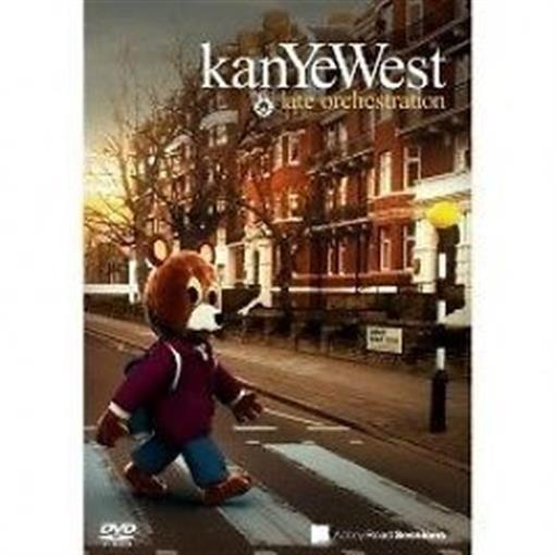 KANYE WEST Late Orchestration DVD NEW