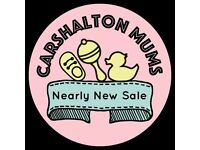 Carshalton Mums Nearly New sale: 24 March 2018
