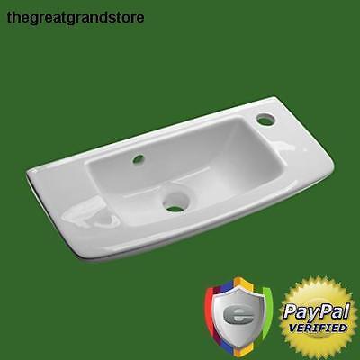 Lose everything Mount Bathroom Sink Vanity Small White Basin Overflow Kitchen Corner In France pissoir