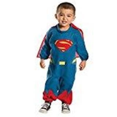 NEW TODDLER KIDS SUPERMAN ROMPER COSTUME WITH CAPE SIZE 2-4 HALLOWEEN DRESS UP - Toddler Superman Halloween Costume