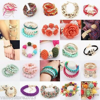 NEW LOT FASHION EARRINGS Hoop Dangle Rings Necklaces Bracelets Bangles Mixed