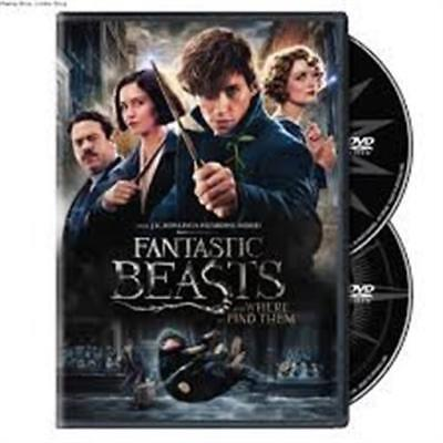 Fantastic Beasts and Where to Find Them (DVD, 2017, 2-Disc Set) NEW
