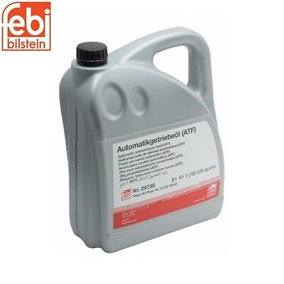 Auto Transmission Fluid (5 Liter) Febi 099517060 For: BMW 740i 740iL 850Ci M3