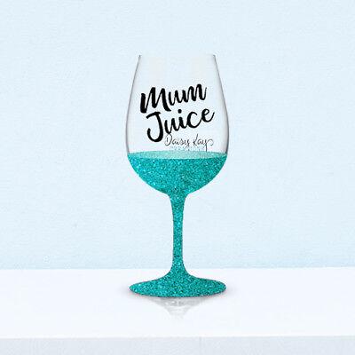 ss Decals (V162) DIY Glittered Glass - Mothers Day (V Day Dekorationen)