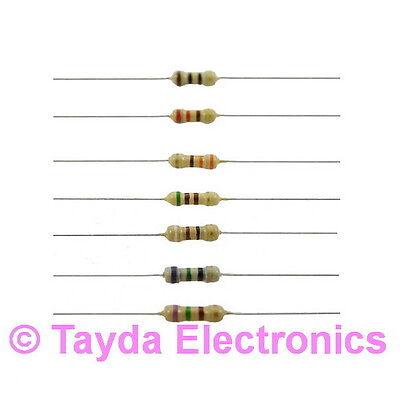 50 X 100k Ohms Ohm 14w 5 Carbon Film Resistor - Free Shipping