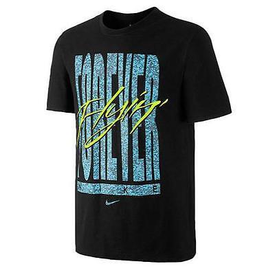Nike S/S FOREVER FLYIN T-SHIRT BLACK/MULTICOLOR 666421-010