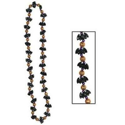 Bat Beads Necklace Costume Accessories Halloween Party - Halloween Costume Party Decorations