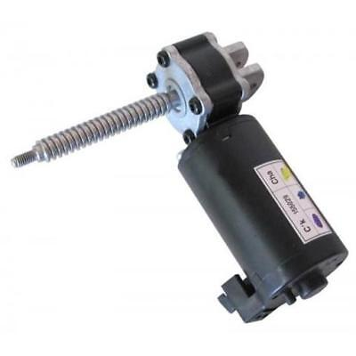 1 12vdc Right-angle Gear Head Motor With Worm Drive