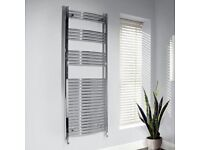 Unused Large Chrome Heated Towel Rail £90