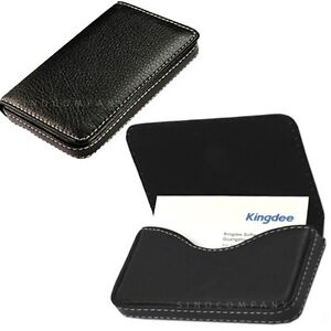 Mens Leather Business Credit ID Card Holder Case Wallet