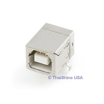5 X Usb Type B Female Connector   Usa Seller   Free Shipping