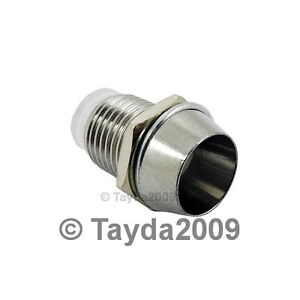 5-x-5mm-Bezel-LED-Holder-Chrome-Metal-FREE-SHIPPING