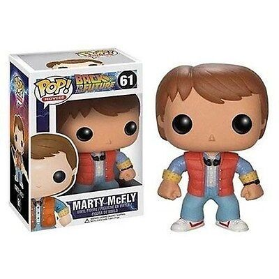 Funko - Back to the Future Marty McFly Pop! Vinyl Figure