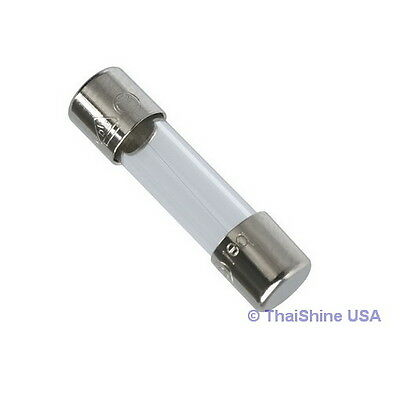 10 X Fuse Glass Fast Acting 1 5A 250V 6X30mm   Usa Seller   Free Shipping