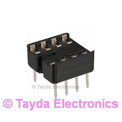 10 X 8 Pin Dip Ic Sockets Adaptor Solder Type Socket - Free Shipping