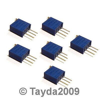 2 X 500 Ohm Trimpot Trimmer Potentiometer 3296w 3296