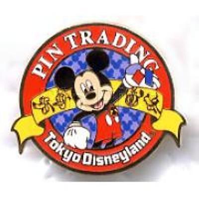 Disney Pin - TDL - Tokyo Disneyland Pin Trading