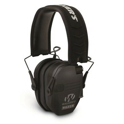 Walkers Gwp-rsem Razor Slim Range Electronic Earmuffs Hearing Protection Range