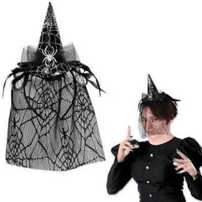 Halloween Spider Witch Hat Headband - Halloween Spider Headband